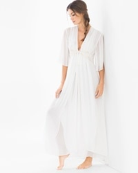 Jonquil Windsong Bridal Long Robe Ivory