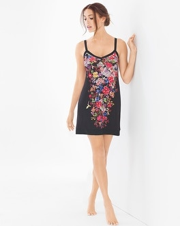 Flora Nikrooz Frida Floral Sleep Chemise Midnight Garden