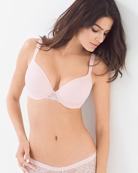 Enhancing Shape Full Coverage Allover Lace Bra