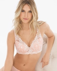 Sensuous Lace Cropped Bustier
