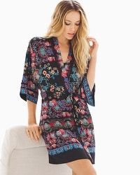 In Bloom Meander Short Robe
