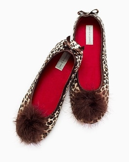 Patricia Green Lola Slippers Leopard