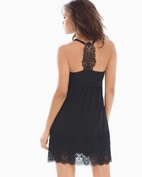 Limited Edition Majesty Lace Sleep Chemise Black