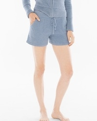 Barefoot Dreams Chic Lite Lounge Shorts Chambray