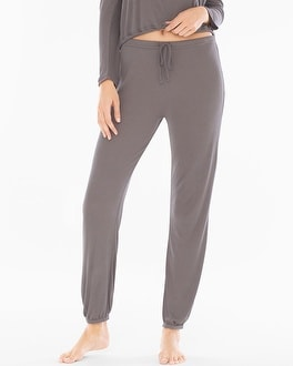 Barefoot Dreams Luxe Ribbed Jogger Lounge Pants