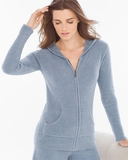 Barefoot Dreams Chic Lite Hoodie Chambray