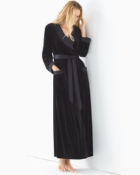 Luxe Long Velvet Robe