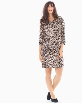 Embraceable 3/4 Sleeve Sleepshirt Jaguar Neutral