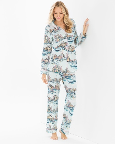 Knit PJ Set Grand Canal