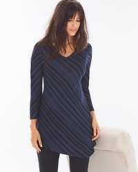 Live. Lounge. Wear. Long Sleeve Asymmetrical Tunic