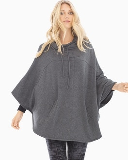 Live. Lounge. Wear. Divine Terry Hooded Poncho