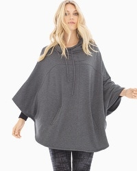 Divine Terry Hooded Poncho