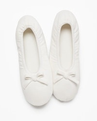 Embraceable Ballet Slippers Ivory