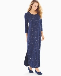 Embraceable Long Sleepshirt Mystical Sky Navy