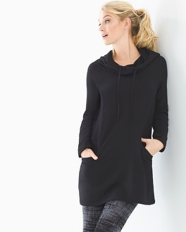 Live. Lounge. Wear. Fleece Tunnel Neck Tunic