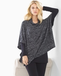 Live. Lounge. Wear. Shawl Collar Poncho