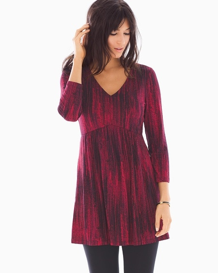 Soft Jersey V-Neck Tunic