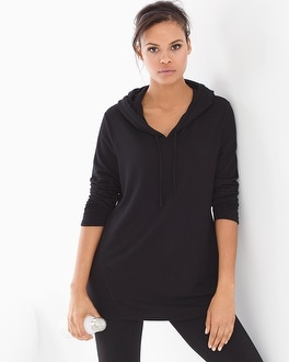 Live. Lounge. Wear. Divine Terry Shirred Sleeve Pullover