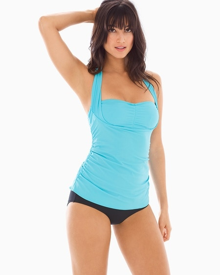 Convertible Halter Bra Cup Sized Tankini Top