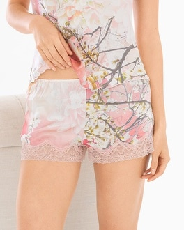 Samantha Chang Classics Silk Pajama Shorts