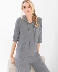 French Terry Hooded Tunic