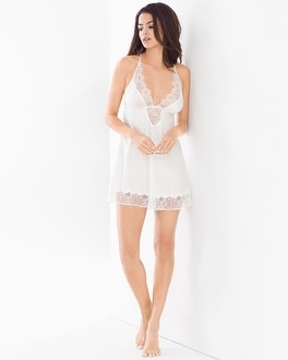 Flora Nikrooz Paige Sleep Chemise with Lace