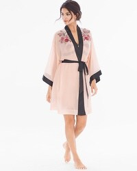 Limited Edition Lace Affaire Short Robe Rose Blush