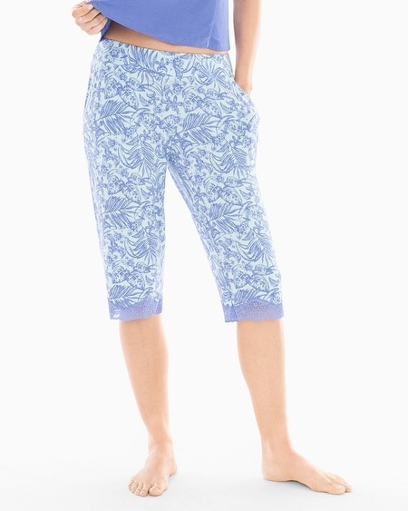 Narrow Crop Pajama Pants