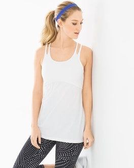 Soma Sport Strappy Cotton Blend Yoga Tank Top
