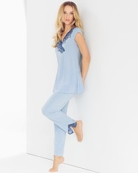 Oh My Gorgeous Tunic Pajama Set