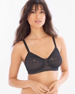 Wacoal Visual Effects Lace Wireless Minimizer Bra