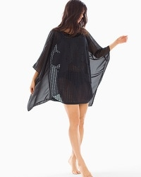 Profile by Gottex Rambling Rose Kimono Swim Cover Up