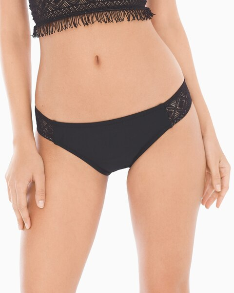 50fcc595c5175 Taboo Shirred Side Tab Swim Bottom - Soma