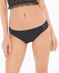 Profile Blush by Gottex Taboo Shirred Side Tab Swim Bottom