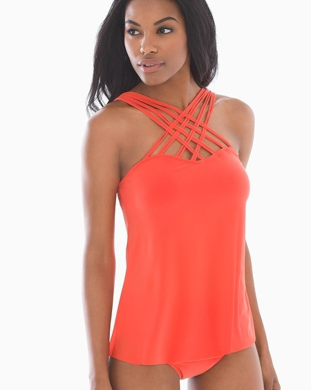 Morgan Strappy Swim Tankini Top