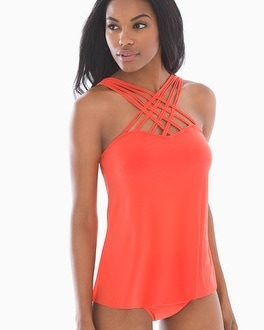 Magicsuit Morgan Strappy Swim Tankini Top