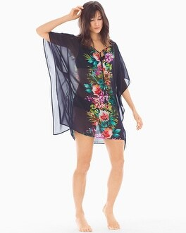 Tommy Bahama Mare Beaded Tassels Tunic Swim Cover Up