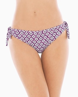 Tommy Bahama Tiles of Tropics Reversible Tie Hipster Swim Bottom