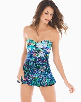 Profile by Gottex Paradise Bay Bandeau Swimdress