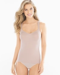 TC Fine Intimates Even More Firm Control Full Figure Camisole