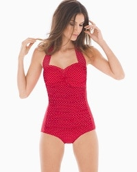 Miraclesuit Pin Point Spellbound One Piece Swimsuit