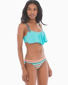 Profile Blush by Gottex Underwire Flutter Swim Bikini Top