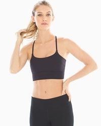 Soma Sport Strappy Ring Back Yoga Bra