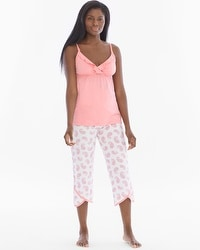 Belabumbum Paisley Dream Pima Cotton Nursing Pajama Set