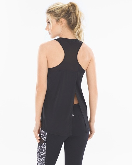 Split Back Sport Tank Top