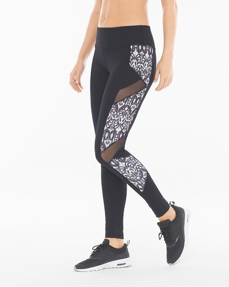 Slimming Reversible Ankle Length Sport Leggings