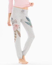 P.J. Salvage Wild Spirits Cotton Blend Sweatpants