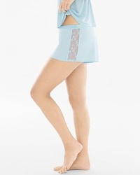 Sheer Luster Sleep Tap Shorts