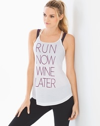 Athleisure Strappy Back Tank