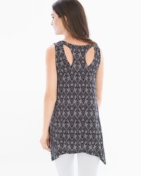 Soft Jersey Strappy Racerback Sleeveless Tunic